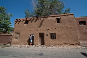 Bryce and the oldest house in the USA!