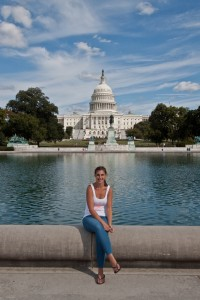 Annabelle at the United States Capitol